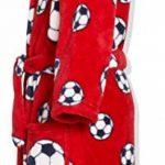 peignoir de bain enfant rouge TOP 1 image 3 produit