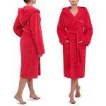 peignoir de bain femme avec capuche TOP 6 image 1 produit