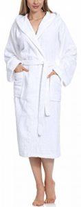 peignoir de bain femme blanc TOP 4 image 0 produit