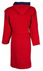 Peignoir De Bain Lille - Licence Officielle LOSC - Rouge. de la marque Licence LOSC image 0 produit
