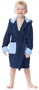 Peignoir de Bain Éponge 100% Coton Unisexe Enfant LA40-103 de la marque Ladeheid image 0 produit