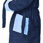 Peignoir de Bain Éponge 100% Coton Unisexe Enfant LA40-103 de la marque Ladeheid image 1 produit