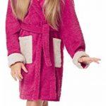 Peignoir de Bain Éponge 100% Coton Unisexe Enfant LA40-103 de la marque Ladeheid image 3 produit
