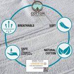Peignoir de Bain pour Homme 100% Coton avec Capuche - Taille XS S M L XL XXL - Certifié Oeko TEX - Robe de Chambre 2 Poches, Ceinture et Boucle d'Accroche - Doux, Absorbant et Confort de la marque Twinzen image 3 produit