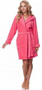 Peignoir de Bain Robe de Chambre avec Capuche Femme 1GN2S de la marque Merry-Style image 0 produit