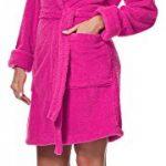 Peignoir de Bain Robe de Chambre avec Capuche Femme 1GN2S de la marque Merry-Style image 3 produit