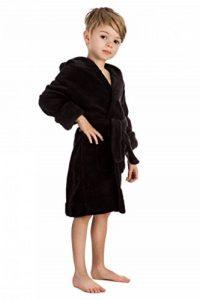 Peignoir De Nuit a Capuche pour Enfants Garcons Filles (Taille 92-164 Ans) de la marque elowel image 0 produit