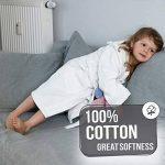 peignoir enfant blanc TOP 14 image 3 produit