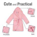 ⭐Peignoir Enfant Garçon et Fille, 100% Coton, Certifié sans Produits Chimiques - Robe de Chambre, Sortie de Bain, Absorbant de la marque Twinzen image 2 produit