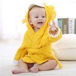 peignoir enfant jaune TOP 8 image 3 produit