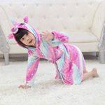 Peignoir Enfant Vêtements Confortable Polaire Doux Licorne à Encapuchonné Vêtements de Nuit Cadeau Unisexe de la marque EuHigh image 4 produit