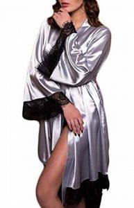 peignoir femme gris TOP 10 image 0 produit