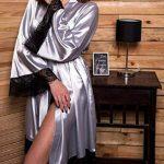 peignoir femme gris TOP 10 image 1 produit