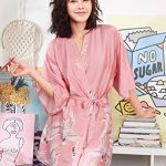 peignoir femme rose TOP 13 image 1 produit