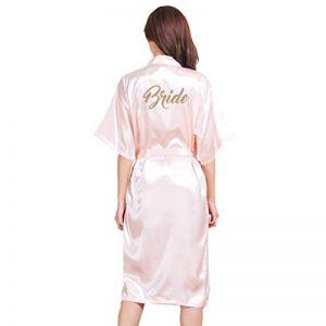 peignoir femme rose TOP 4 image 0 produit