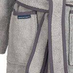Peignoir Fille et Enfant garçon avec Capuche 100% Coton Tailles 98/104 à 170/176 Disponibles de la marque Morgenstern image 4 produit