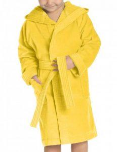 peignoir jaune TOP 0 image 0 produit