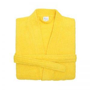 peignoir jaune TOP 2 image 0 produit