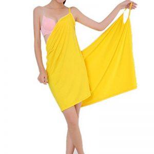 peignoir jaune TOP 7 image 0 produit