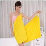 peignoir jaune TOP 7 image 2 produit