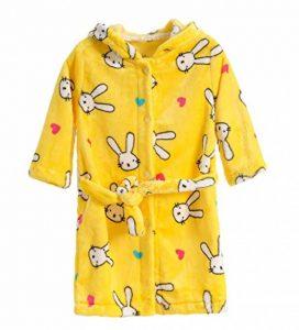 peignoir jaune TOP 9 image 0 produit