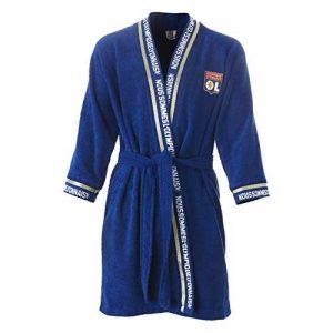 Peignoir Junior Bleu OL de la marque Olympique-Lyonnais image 0 produit