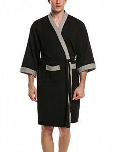 peignoir kimono homme coton TOP 3 image 0 produit