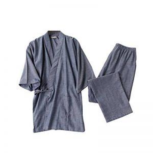 peignoir kimono homme coton TOP 8 image 0 produit