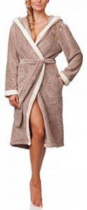 peignoir éponge femme avec capuche TOP 1 image 0 produit