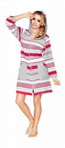 peignoir éponge femme avec capuche TOP 4 image 0 produit