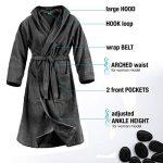 peignoir éponge noir TOP 11 image 1 produit