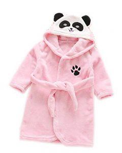 Peignoir pour Enfants Automne et Hiver Unisexe Doux Flanelle Robe de Nuit Mignon Robes de Bain 3-8 Ans de la marque Runyue image 0 produit