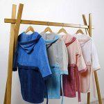 Peignoir pour Enfants Petit garçon ou Fille 100% Coton 6-8 Ans Bleu de la marque Ct+Dco image 2 produit