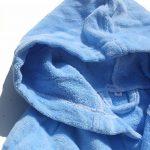 ] Peignoir prénom garçon brodé avec Une Robe de Chambre 100% Coton de la marque FEETOO image 4 produit
