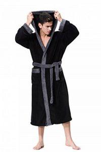 Peignoir/Robe de Chambre Homme Haut de Gamme en Polaire Velours de la marque COSMOZ image 0 produit