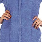 Peignoir/robe de chambre souple et hyper-coloré avec zip pratique et capuche moelleux, fabriqué dans l'UE de la marque FOREX-Lingerie image 1 produit