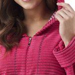 Peignoir/Robe de Chambre Tendance, en Coton Souple, avec Poches, Zip et Capuche de la marque DOROTA image 1 produit