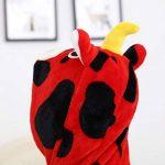 Peignoir Unisexe Enfant À Capuche Dessin Animé, Manches Longues Hooded La Mode Impression Mignon Sleepwear de la marque KUKICAT image 3 produit