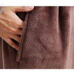 Peignoir Unisexe Femme/Homme Couple Longue en Velours Chaud Robe de Chambre Polaire Pyjama pour Hiver Perfect Cadeau Noël de la marque Raylans image 3 produit