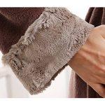 Peignoir Unisexe Femme/Homme Couple Longue en Velours Chaud Robe de Chambre Polaire Pyjama pour Hiver Perfect Cadeau Noël de la marque Raylans image 4 produit