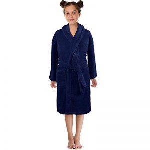 Peignoir Unisexe Service à Domicile Couleur Unie Peignoir de Bain Vêtements pour Enfants Sleepwear de la marque KUKICAT image 0 produit