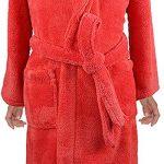 Peignoir Unisexe Service à Domicile Couleur Unie Peignoir de Bain Vêtements pour Enfants Sleepwear de la marque KUKICAT image 2 produit
