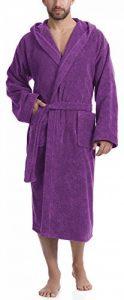 peignoir violet TOP 1 image 0 produit