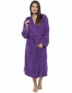 peignoir violet TOP 4 image 0 produit