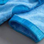 Peignoirs pour Enfants Sortie de bain à Capuchon Garçons Filles Peignoir Serviettes de Plage 3-5 Ans, Bleu de la marque WYTbaby image 2 produit