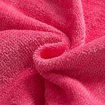 Peignoirs pour Enfants Sortie de bain à Capuchon Garçons Filles Peignoir Serviettes de Plage 3-5 Ans, Rouge de la marque WYTbaby image 2 produit