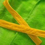 Peignoirs pour Enfants Sortie de bain à Capuchon Garçons Filles Peignoir Serviettes de Plage 3-5 Ans, Vert de la marque WYTbaby image 2 produit