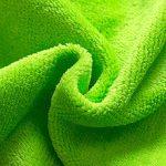 Peignoirs pour Enfants Sortie de bain à Capuchon Garçons Filles Peignoir Serviettes de Plage 3-5 Ans, Vert de la marque WYTbaby image 3 produit