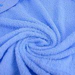 Pekitas Sortie de bain avec capuche et gant 75x 75cm 100% coton Dessin brodé Fabriqué au Portugal bleu de la marque PEKITAS image 2 produit