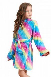 PENGMAI Licorne Peignoir pour Enfants Fille Garçon avec Capuche Vêtements De Nuit Pyjamas Robe de Chambre Serviette Doux 2-11Ans de la marque PENGMAI image 0 produit